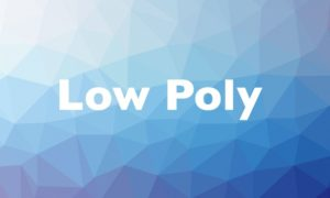 This is an example of low-poly in graphic design.